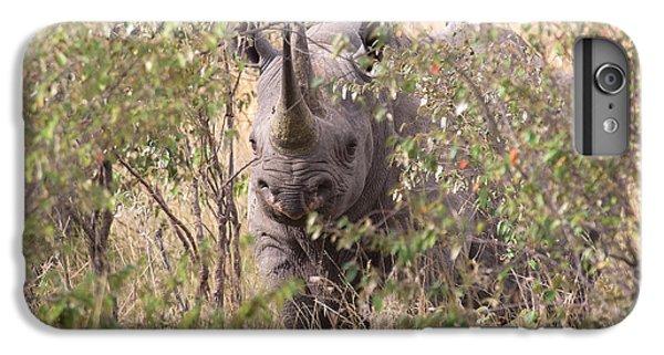 Rhinocerus iPhone 6 Plus Case - Black Rhino  by Chris Scroggins