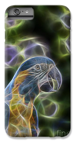 Blue And Gold Macaw  IPhone 6 Plus Case by Douglas Barnard