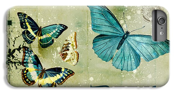Blue Butterfly - S55c01 IPhone 6 Plus Case