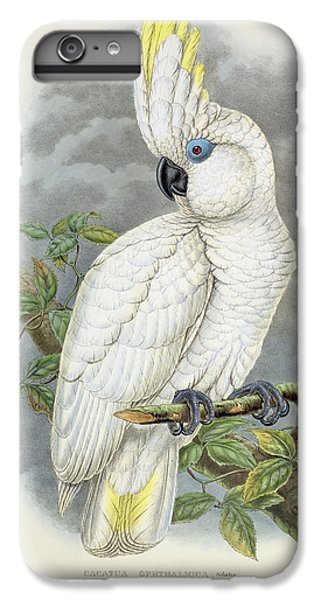 Blue-eyed Cockatoo IPhone 6 Plus Case