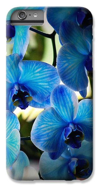Orchid iPhone 6 Plus Case - Blue Monday by Mandy Shupp