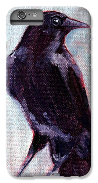 Blue Raven IPhone 6 Plus Case by Nancy Merkle