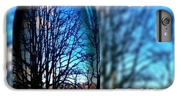 Sunny iPhone 6 Plus Case - Blue Skies Bottled Winter In Oregon by Anna Porter