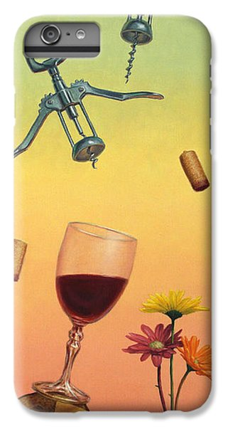 Wine iPhone 6 Plus Case - Body And Soul by James W Johnson