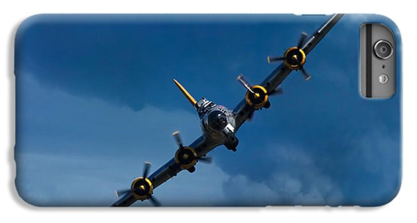Airplane iPhone 6 Plus Case - Boeing B-17 Flying Fortress by Adam Romanowicz