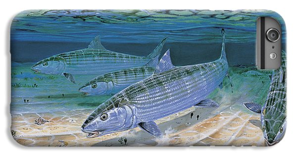 Bonefish Flats In002 IPhone 6 Plus Case by Carey Chen