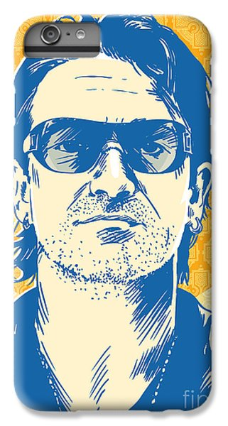 Bono Pop Art IPhone 6 Plus Case by Jim Zahniser