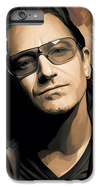 Bono U2 Artwork 2 IPhone 6 Plus Case by Sheraz A