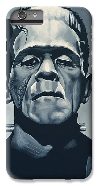 Boris Karloff As Frankenstein  IPhone 6 Plus Case by Paul Meijering
