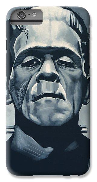 Portraits iPhone 6 Plus Case - Boris Karloff As Frankenstein  by Paul Meijering