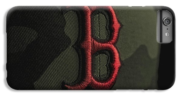 Boston Red Sox IPhone 6 Plus Case by David Haskett