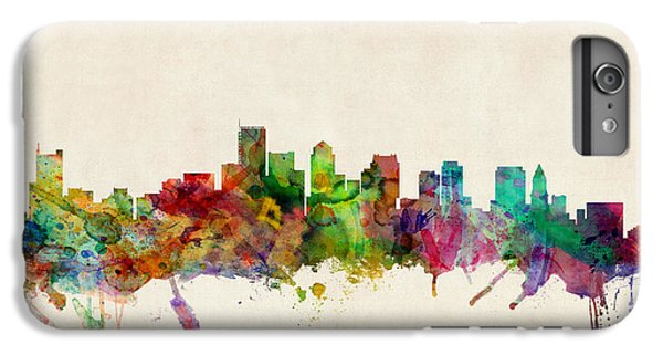 City Scenes iPhone 6 Plus Case - Boston Skyline by Michael Tompsett