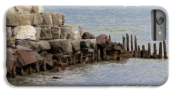 IPhone 6 Plus Case featuring the photograph Breakwater by Ricky L Jones