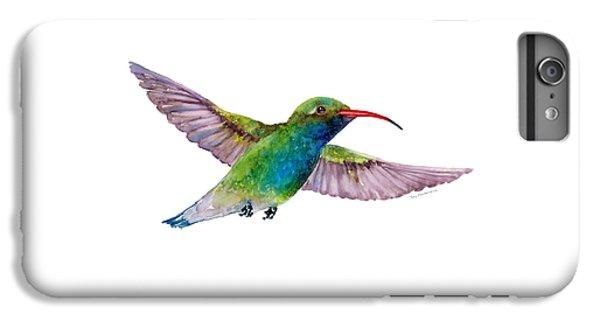 Broad Billed Hummingbird IPhone 6 Plus Case by Amy Kirkpatrick