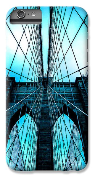 Brooklyn Blues IPhone 6 Plus Case by Az Jackson