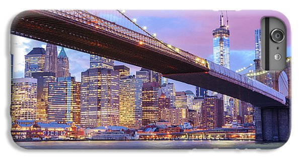 Brooklyn Bridge And New York City Skyscrapers IPhone 6 Plus Case