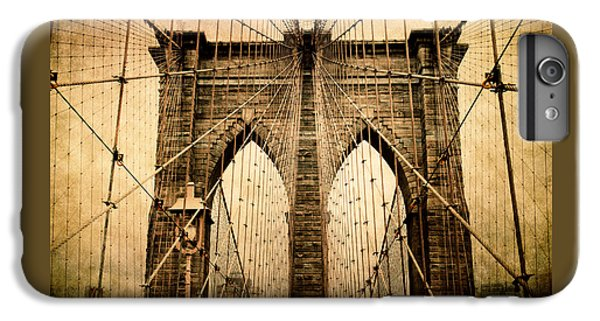 Brooklyn Bridge Nostalgia IPhone 6 Plus Case by Jessica Jenney