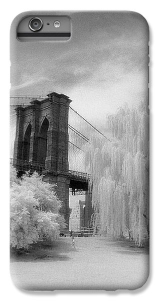 Brooklyn Bridge Willows IPhone 6 Plus Case by Dave Beckerman