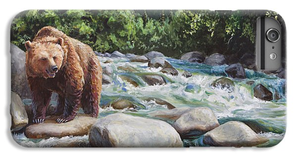 Brown Bear On The Little Susitna River IPhone 6 Plus Case