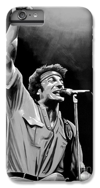 Bruce Springsteen IPhone 6 Plus Case by Meijering Manupix