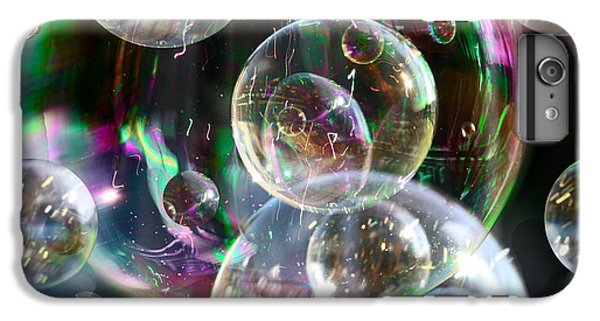 IPhone 6 Plus Case featuring the photograph Bubbles And More Bubbles by Nareeta Martin