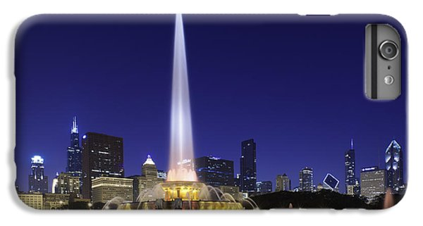 Buckingham Fountain IPhone 6 Plus Case by Sebastian Musial