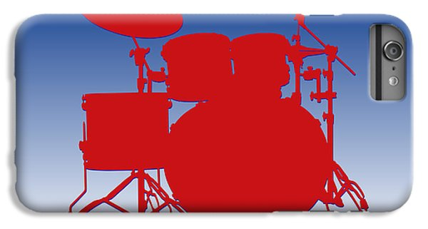 Buffalo Bills Drum Set IPhone 6 Plus Case by Joe Hamilton