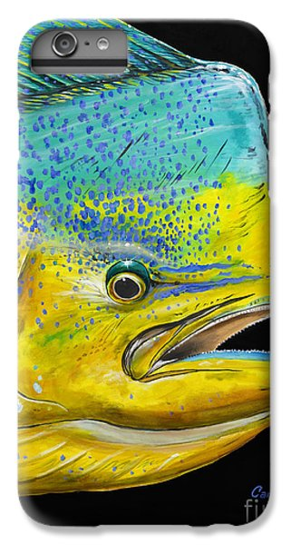Bull Head Off0033 IPhone 6 Plus Case by Carey Chen