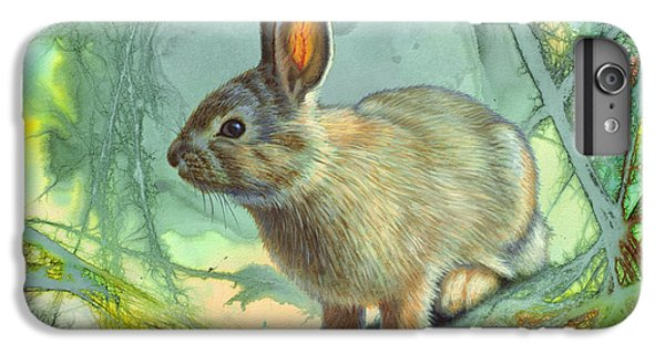 Rabbit iPhone 6 Plus Case - Bunny In Abstract by Paul Krapf