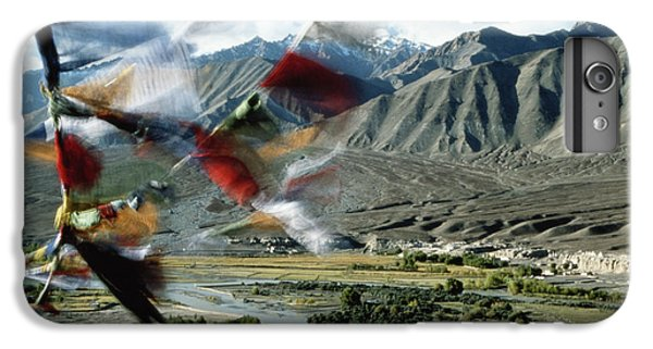 Bunting iPhone 6 Plus Case - Bunting Flying In Sky With Kunlun by John and Lisa Merrill