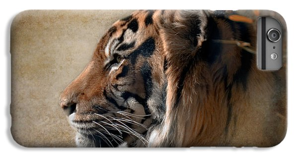 Tiger iPhone 6 Plus Case - Burning Bright by Betty LaRue