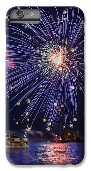 Burst Of Blue IPhone 6 Plus Case by Bill Pevlor