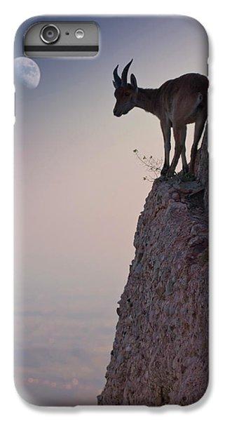 Goat iPhone 6 Plus Case - By A Bouquet Of Flowers by Renato J. L?pez