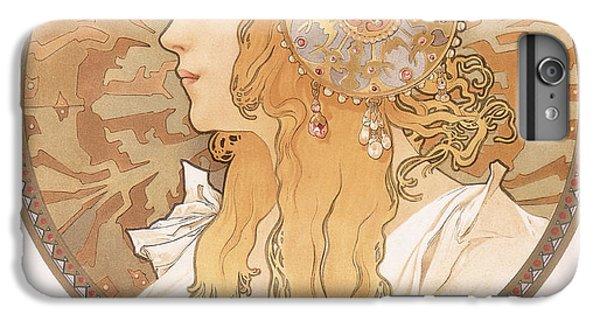 Byzantine Head Of A Blond Maiden IPhone 6 Plus Case