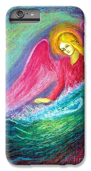 Figurative iPhone 6 Plus Case - Calming Angel by Jane Small