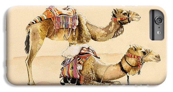 Camels From Petra IPhone 6 Plus Case by Alison Cooper