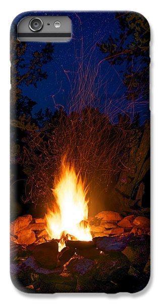 Campfire Under The Stars IPhone 6 Plus Case