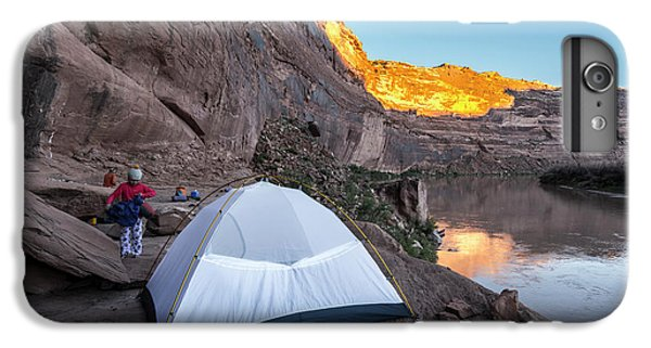Knit Hat iPhone 6 Plus Case - Camping Along The Labyrinth Canyon by Kennan Harvey