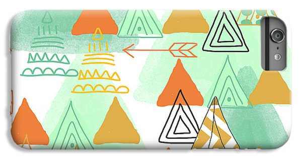 Camping IPhone 6 Plus Case by Linda Woods