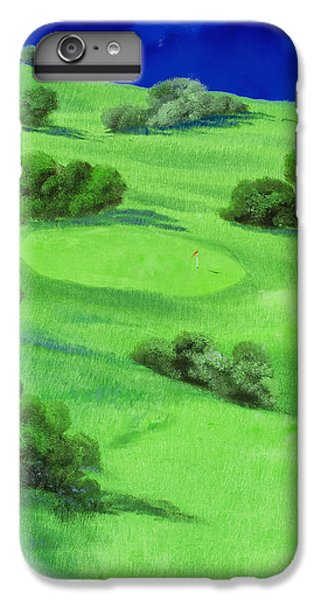 Campo Da Golf Di Notte IPhone 6 Plus Case by Guido Borelli