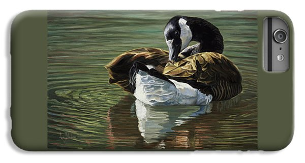 Goose iPhone 6 Plus Case - Canadian Goose by Lucie Bilodeau