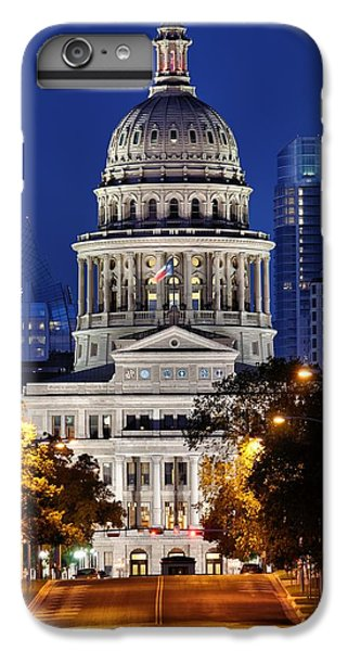 Capitol Of Texas IPhone 6 Plus Case by Silvio Ligutti
