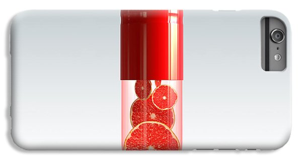 Capsule With Citrus Fruit IPhone 6 Plus Case by Johan Swanepoel