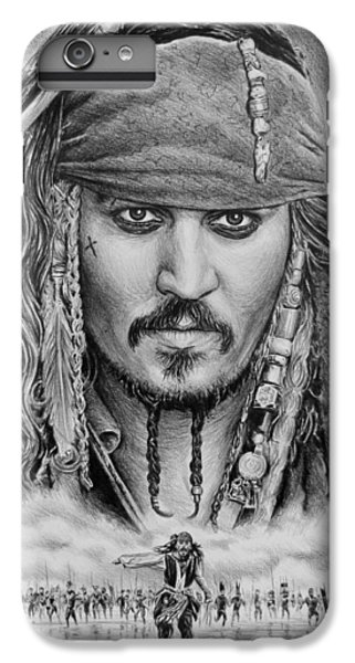 Captain Jack Sparrow IPhone 6 Plus Case