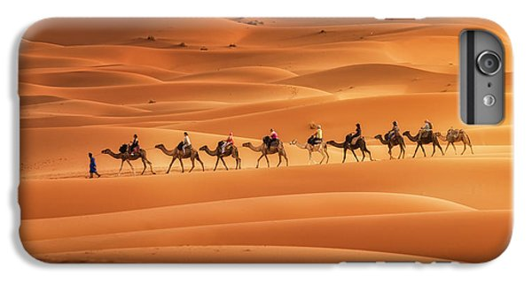 Africa iPhone 6 Plus Case - Caravan by Jorge Ruiz Dueso