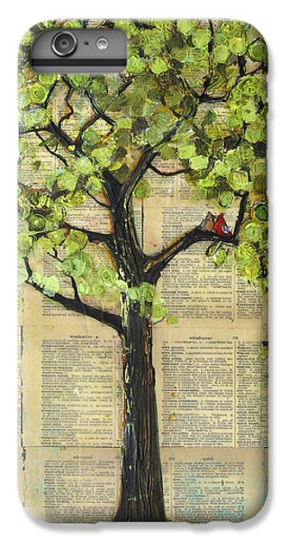 Cardinals In A Tree IPhone 6 Plus Case by Blenda Studio