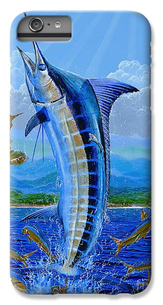 Caribbean Blue Off0041 IPhone 6 Plus Case by Carey Chen