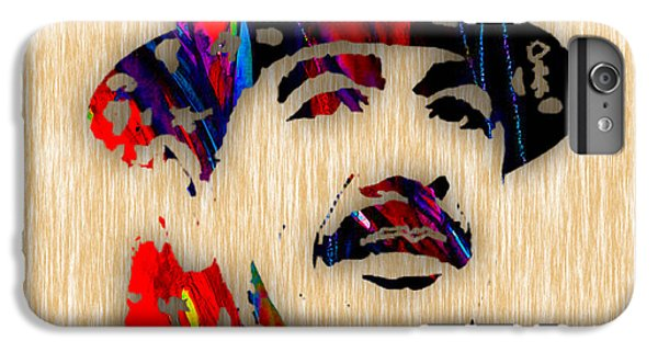 Carlos Santana Art IPhone 6 Plus Case by Marvin Blaine