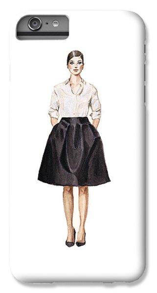 Carolina Herrera Classic Look IPhone 6 Plus Case by Jazmin Angeles