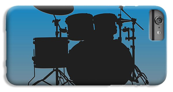 Carolina Panthers Drum Set IPhone 6 Plus Case by Joe Hamilton